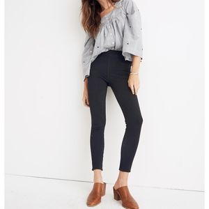 Madewell black Pull-On Jeans